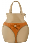 POPKA BAG Natural in Orange